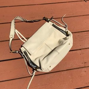 Aimee Kestenberg White Supple Leather Bag